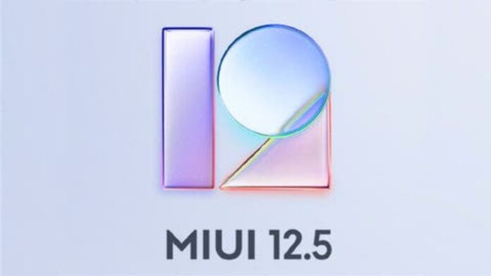 MIUI 12.5 stable versions