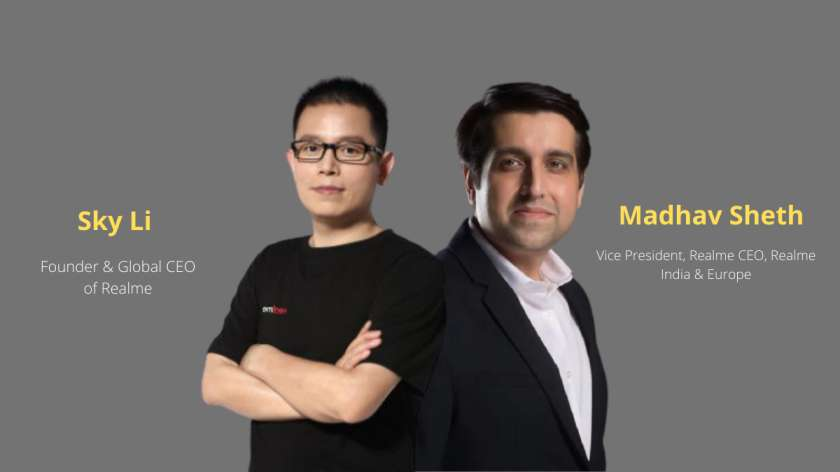 Who is founder of Realme Who is CEO of Realme India