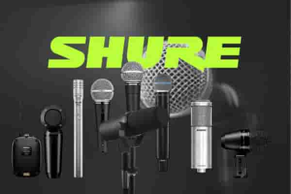 Where are Shure Incorporated products manufactured?